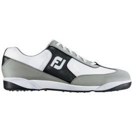Footjoy Greenjoys White/Black Mens US8.0