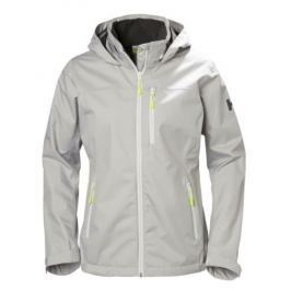 Helly Hansen W CREW HOODED JACKET SILVER - L