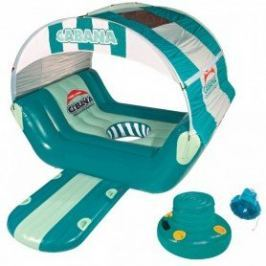 Sportsstuff Inflatable Cabana Islander Incl. Accessories Turquoise/White