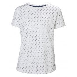 Helly Hansen W NAIAD T-SHIRT WHITE ANCHOR - XS