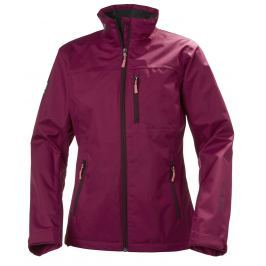 Helly Hansen W CREW JACKET PLUM M