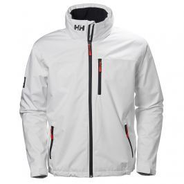 Helly Hansen CREW HOODED MIDLAYER JACKET WHITE - S