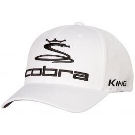 Cobra Pro Tour Cap White S/M