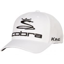 Cobra Pro Tour Cap White L/XL