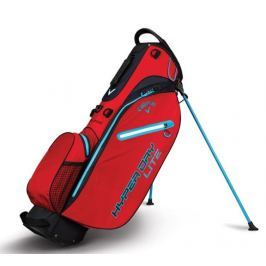 Callaway Hyper Dry Lite Stand Bag Red/Black/Neon Blue 2018