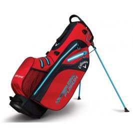 Callaway Hyper Dry Fusion Stand Bag Red/Black/Neon Blue 2018