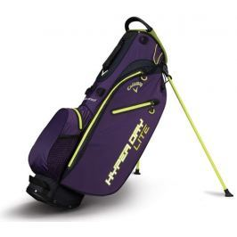 Callaway Hyper Dry Lite Stand Bag Purpleple/Neon Green/White 2018