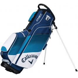 Callaway Chev Org Stand Bag White/Blue/Navy 2018