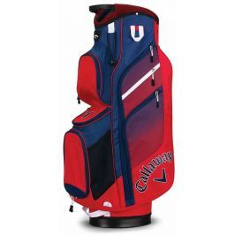 Callaway Chev Org Cart Bag Red/Navy/White 2018