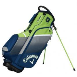 Callaway Chev Org Stand Bag Navy/Silver/Green 2018