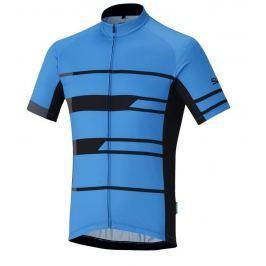 Shimano Team Short Sleeve Jersey Blue M