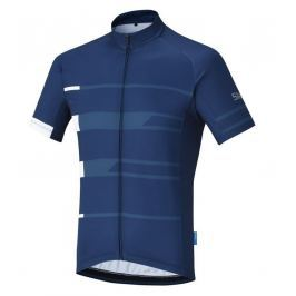 Shimano Team Short Sleeve Jersey Navy L