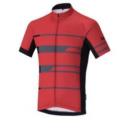 Shimano Team Short Sleeve Jersey Red XL
