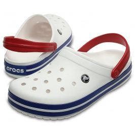 Crocs Crocband White/Blue Jean 42-43