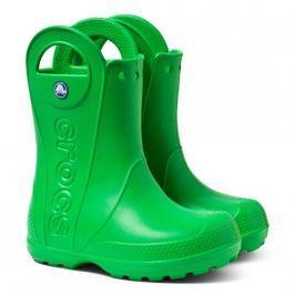 Crocs Handle It Rain Boot Kids Grass Green 28-29