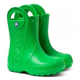 Crocs Handle It Rain Boot Kids Grass Green 30-31