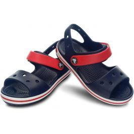 Crocs Crocband Sandal Kids Navy/Red 25-26