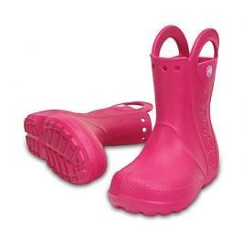 Crocs Handle It Rain Boot Kids Candy Pink 32-33