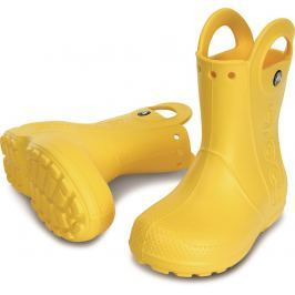 Crocs Handle It Rain Boot Kids Yellow 28-29