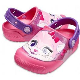 Crocs Crocs Fun Lab Lights Clog Kids Paradise Pink 27-28