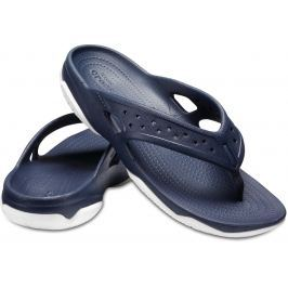 Crocs Swiftwater Deck Flip Men Navy/White 45-46