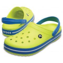 Crocs Crocband Clog Unisex Adult Tennis Ball Green/Ocean 43-44
