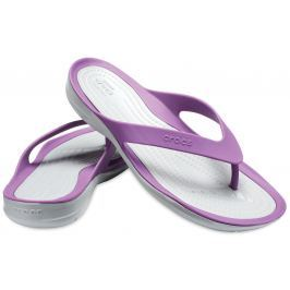 Crocs Swiftwater Flip Women Amethyst/Light Grey 39-40
