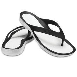 Crocs Swiftwater Flip Women Black/White 37-38