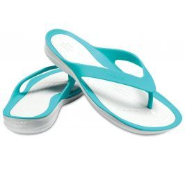 Crocs Swiftwater Flip Women Tropical Teal/Pearl White 38-39