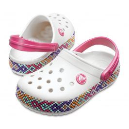 Crocs Crocband Gallery Clog Kids Oyster 24-25