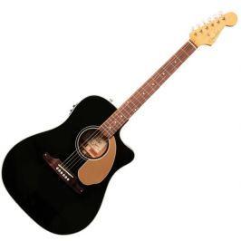 Fender Sonoran SCE Walnut FB Thinline Black