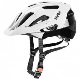 UVEX Quatro White Mat-Black 52-57