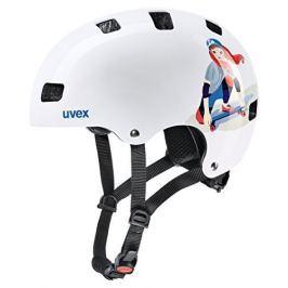 UVEX Kid 3 White Skate 51-55
