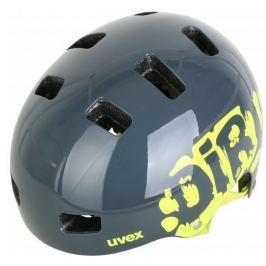 UVEX Kid 3 Dirtbike Grey-Lime 51-55
