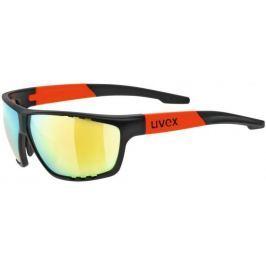 UVEX Sportstyle 706 Black Mat Orange-Mirror Orange S3