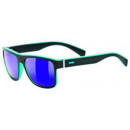 UVEX LGL 21 Black Mat Blue-Mirror Blue S3