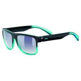 UVEX LGL 21 Black Turquoise-Mirror Smoke Dégradé S3