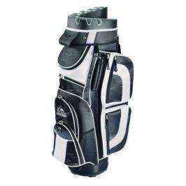 Longridge Pro Cart Bag Black/White