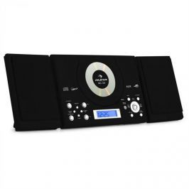 Auna Sistem stereo MC-120 Hi-Fi MP3 CD Player USB, negru