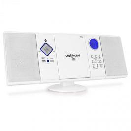 OneConcept Sistem audio stereo V-12 Alb