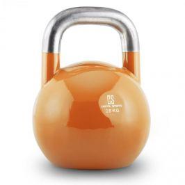 CAPITAL SPORTS Compket 28, 28 kg, culoare somon, ganteră kettlebell, greutate rotundă