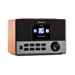 Auna Radio cu Internet cu o interfață WLAN și un port 5V 0.5A USB compatibil MP3 pentru redarea de muzică.