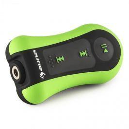 Auna HYDRO 4, verde, MP3 player, 4GB, IPX8, rezistent la apă, mâner, inclusiv căști