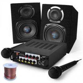 "Electronic-Star Set karaoke ""Pony`s Ranch"" difuzoare și microfoane"