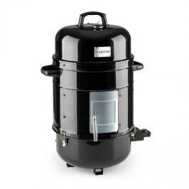Klarstein Barney, gratar electric 3 în 1, BBQ SMOKER GRILL (afuma) BBQ, 1800W, 3X40CM, termometru