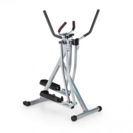 CAPITAL SPORTS Cross Walker Air-Walker X-Walker Cross Trainer, mișcare oscilatorie pe verticală și pe orizontală negru/argintiu