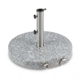 Blumfeldt Schirmherr 30RD, granit, suport pentru umbrelă, suport rotund, granit lustruit
