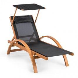 Blumfeldt Panamera, leagăn cu acoperiș, comfort mesh, capacitate de încărcare: 150 kg, negru
