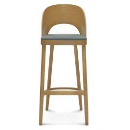 Scaun de lemn pentru bar Fameg Lecia