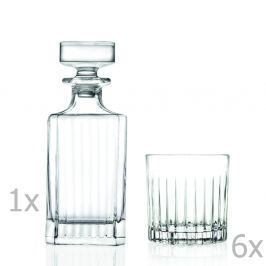 Set carafă și 6 pahare RCR Cristalleria Italiana Giustina